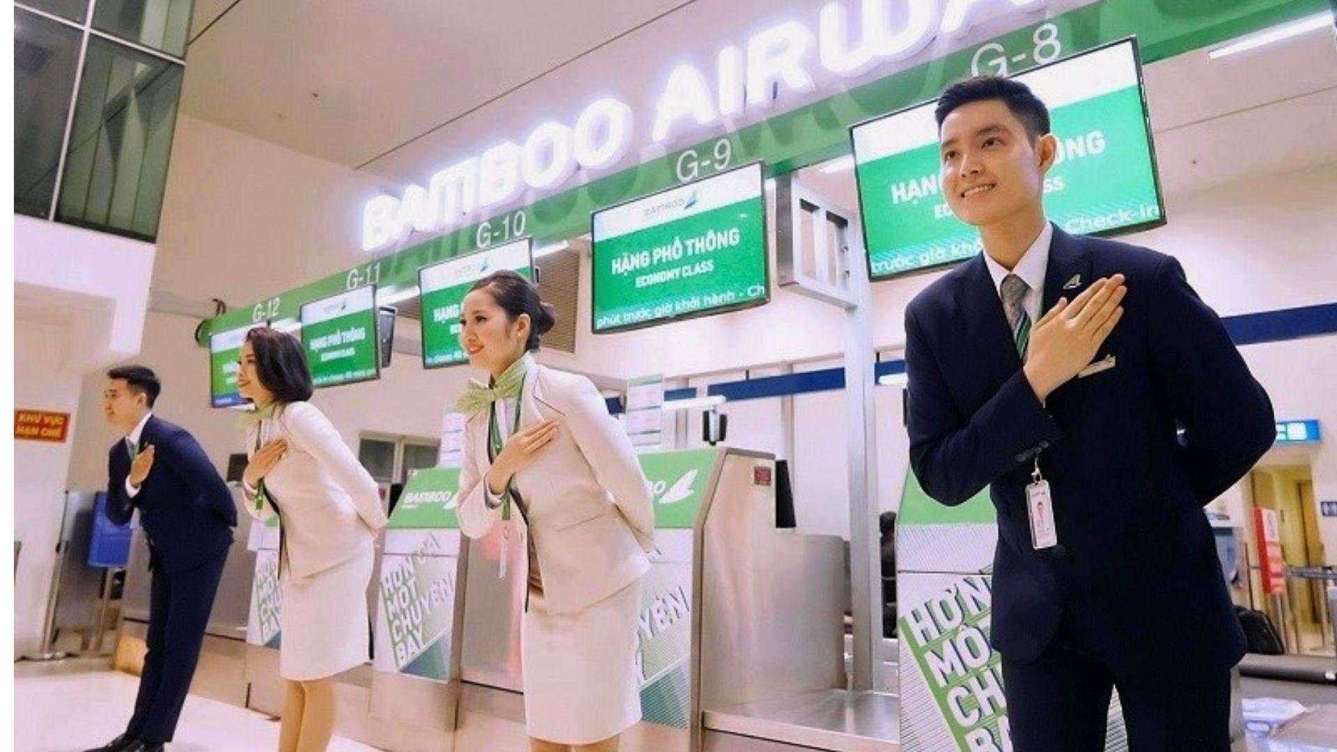 Bamboo Airways tuyển dụng Nhân Viên Phục Vụ Phòng khách Hạng Thương Gia -  Nhật Ký Bay